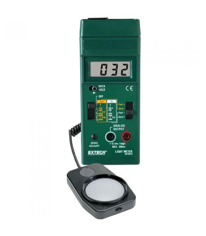 Extech 401025 Foot Candle/Lux Light Meter