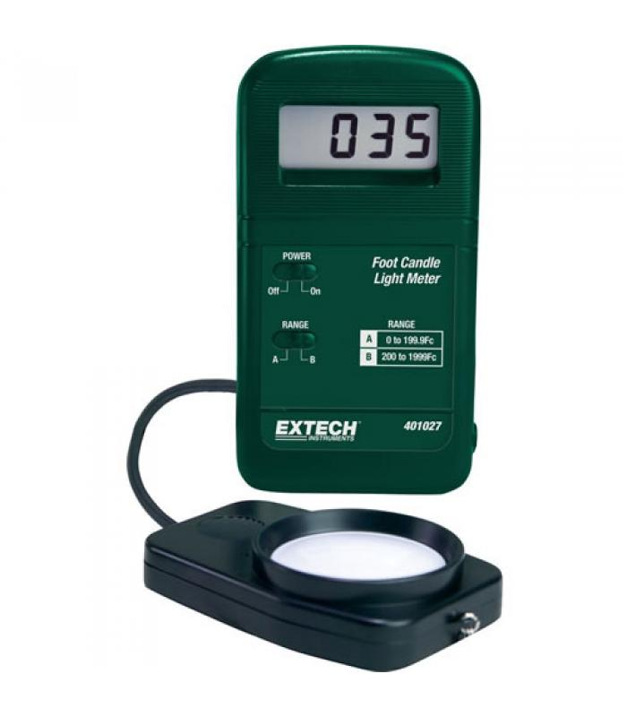 Extech 401027 Pocket-Size Foot Candle Light Meter