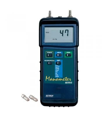 Extech 407910 [407910] Heavy Duty Differential Pressure Manometer (29psi)