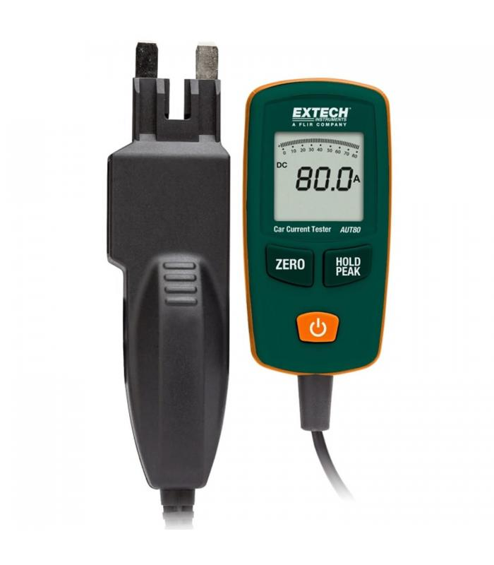 Extech AUT80 [AUT80] 80A Automotive Current Tester with Mini ATC & Max-Blade Connectors