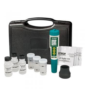 Extech EC510 [EC510] Waterproof ExStik II pH / Conductivity / Temperature Meter Kit