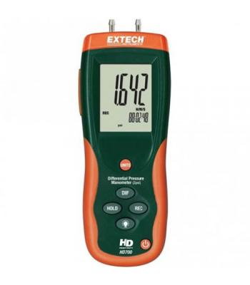 Extech HD700 [HD700] Differential Pressure Manometer (2psi)