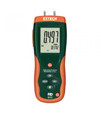 Extech HD755 [HD755] Differential Pressure Manometer (0.5psi)