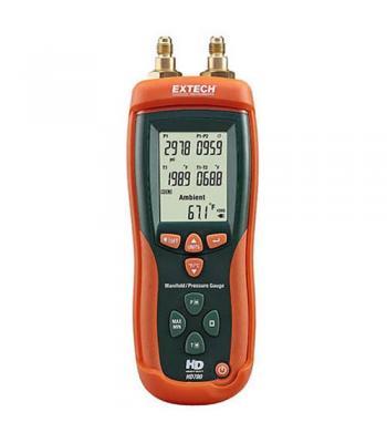 Extech HD780 [HD780] Digital Manifold/Pressure Gauge