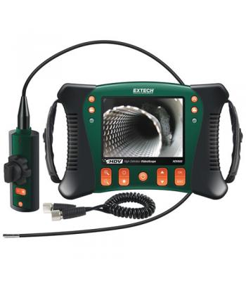 Extech HDV-640W [HDV640W] High Definition Wireless Articulating VideoScope Kit (6mm dia./1m Semi-Rigid Cable)