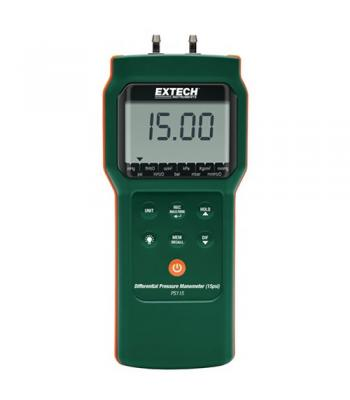 Extech PS115 [PS115] Differential Pressure Manometer (15psi)
