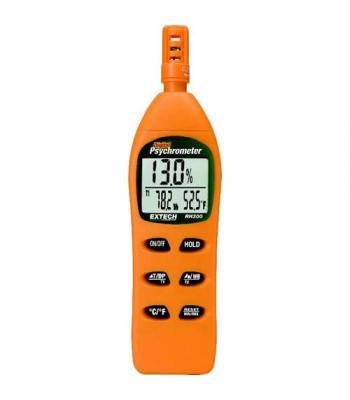 Extech RH305 [RH305] Hygro-Thermometer Psychrometer Kit