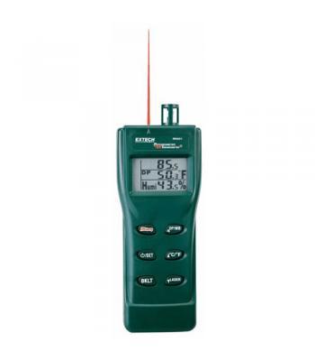 Extech RH401 [RH-401] Digital Psychrometer & InfraRed Thermometer