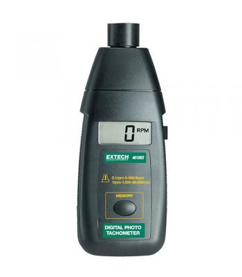 Extech 461893 [461893] Photo Tachometer Non-Contact RPM Measurements to 99,999rpm with Integral Light Beam