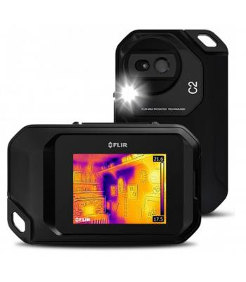 FLIR C2 [72001-0101] 3 in. Compact Thermal Imaging System –10°C to +150°C (14 to 302°F)