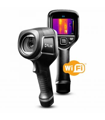 FLIR E6-XT [63907-0804] Infrared (IR) Camera with Extended Temperature Range -4 to 482°F (2 to 250°C)