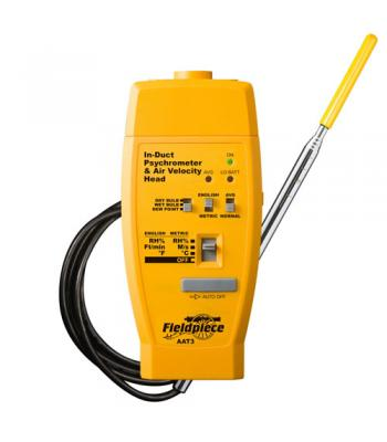 Fieldpiece AAT3 [AAT3] In-Duct Hot-wire Anemometer & Psychrometer Accessory Head