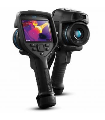 FLIR E75-14 [78501-0101] Advanced Thermal Imaging Camera w/ 14° Lens -20 °C to 120 °C (-4 °F to 248 °F); 0 °C to 650 °C (32 °F to 1200 °F);  300 °C to 1000 °C (572 °F to 1830 °F)