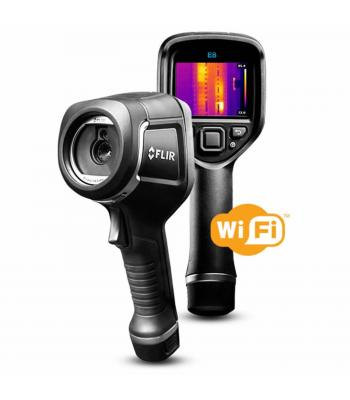 FLIR E8-XT [63908-0905] Infrared (IR) Camera with Extended Temperature Range -4 to 482°F (2 to 250°C)