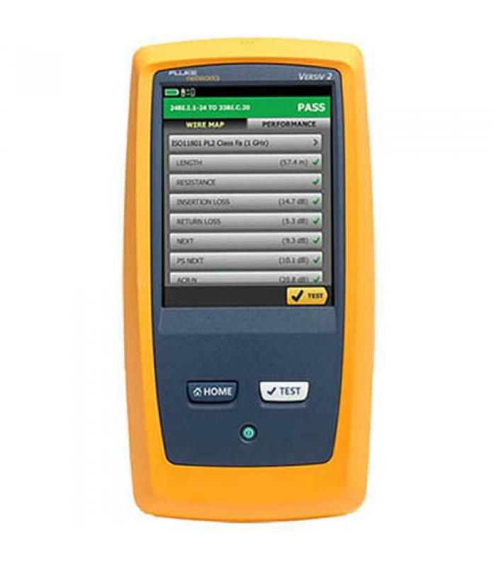 Fluke Networks DSX25000 [DSX2-5000] Versiv 2 CableAnalyzer Copper Certifier with Integrated Wi-Fi
