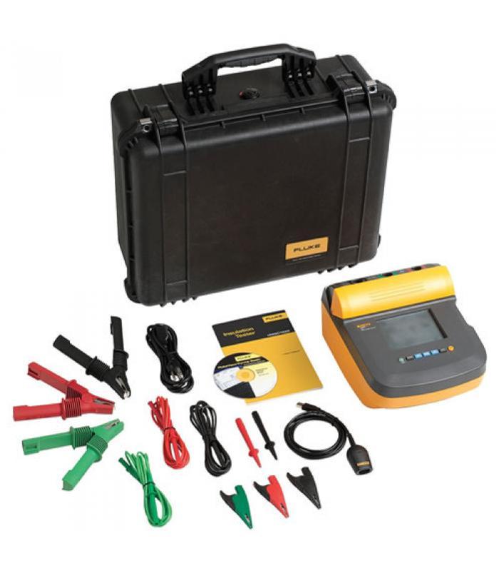 Fluke 1550C/KIT [FLUKE-1550C/KIT] 5 kV Insulation Tester Kit