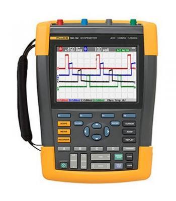 Fluke 190 Series II [FLUKE-190-104/AM] 100 MHz, 4 Ch, 1.25 GS/s, ScopeMeter Oscilloscope