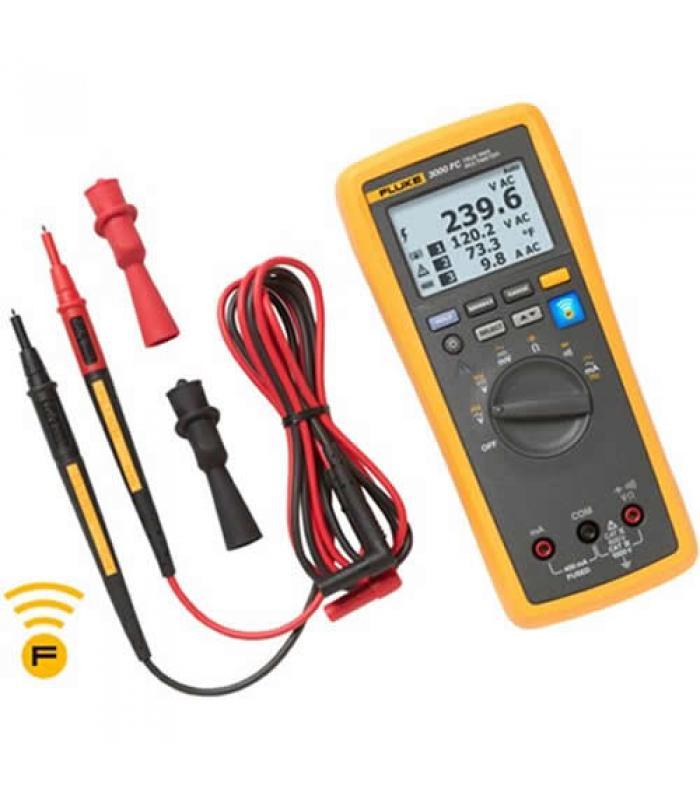 Fluke 3000 FC [FLK-3000FC] Wireless True-RMS Digital Multimeter w/ Fluke Connect Compatibility