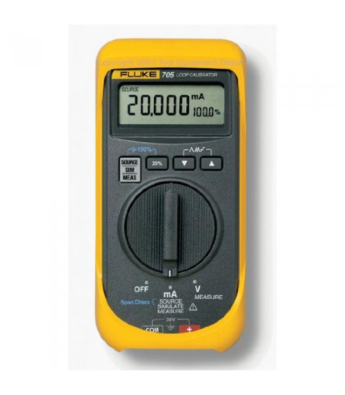 Fluke 700 Series [FLUKE-705] mA Loop Calibrator
