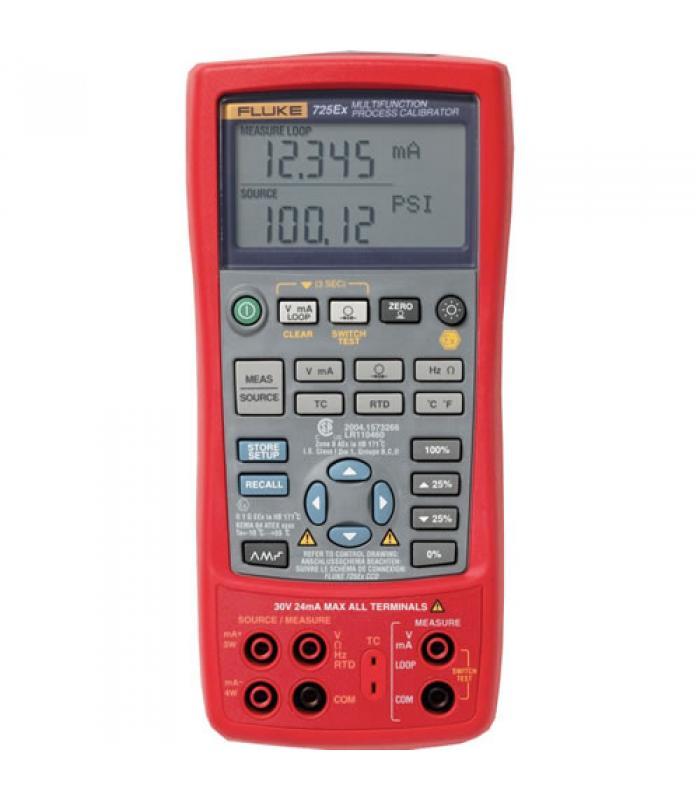 Fluke 725Ex [FLUKE-725EX] Intrinsically Safe Multifunction Process Calibrator