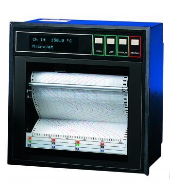 Fuji Electric PHE [PHE1XY42-5Y0EV] 1 Channel Inkjet Strip Chart Recorder