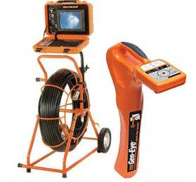 General Pipe Cleaners Gen-Eye SDP [SL-M-SDP-B] Mini Sewer Inspection Camera w/ Digital Pipe Locator for 2 to 4 Inch Lines