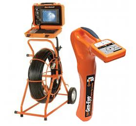 General Pipe Cleaners Gen-Eye SDW [SL-M-SDW-B] Mini Sewer Inspection Camera w/ Digital Pipe Locator for 2 to 4 Inch Lines