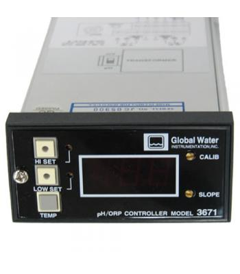Global Water 3671 [HB0300] pH/ORP controller