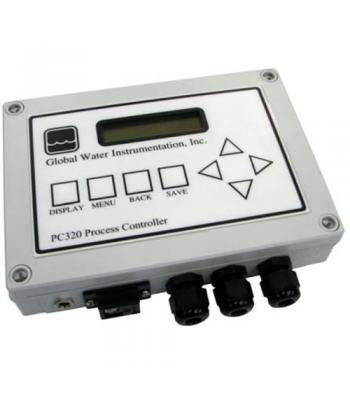 Global Water PC320-AC-D [HA3000] Process Controller with USB Data Logger, AC power