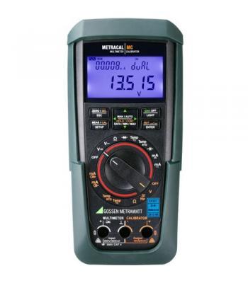 Gossen Metrawatt METRACAL MC [M245A] Handheld  Universal Calibrator, Simulator and Multimeter