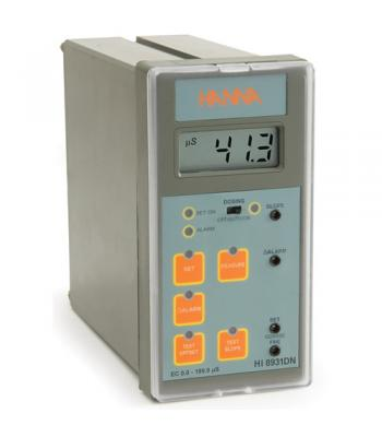 HANNA HI8931 [HI8931BN] Conductivity Analog Controller (High Range @ 19.99 mS/cm) with 4-20 mA Input from Transmitter
