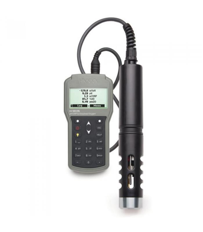 HANNA instruments HI-98196 [HI98196] Multiparameter pH / ORP / DO / Pressure / Temperature Waterproof Meter