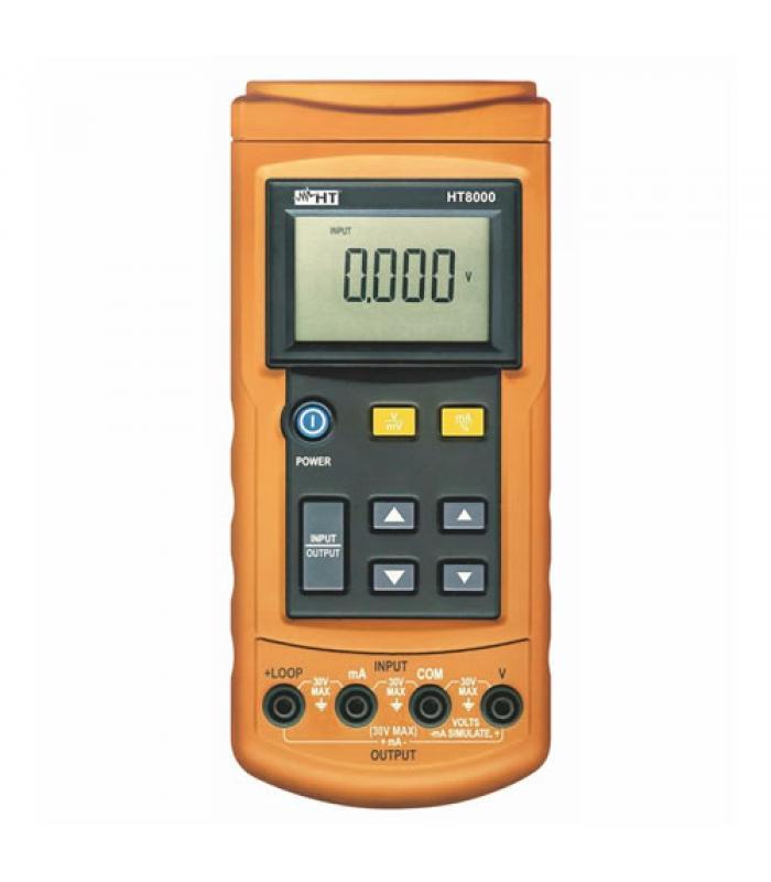 HT Instruments HT8000 Portable Digital Process Calibrator