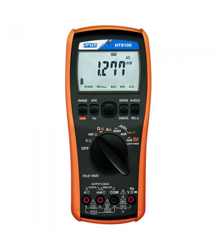 HT Instruments HT8100 [HV008100] Professional Process Calibrator/Multimeter
