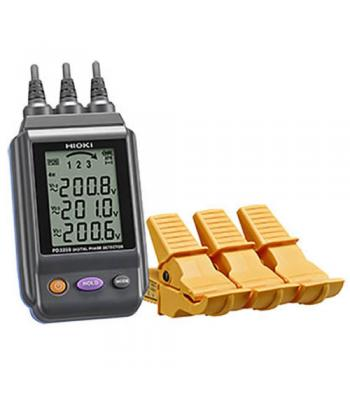 Hioki PD3259-10 SP Non-Contact Digital Phase Detector with  3-Phase Voltage Measurement