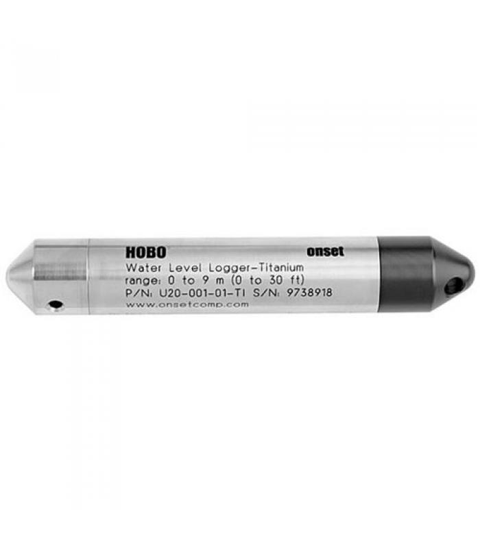 Onset HOBO U20 [U20-001-01-Ti] Titanium Saltwater Water Level Data Logger, 0 to 9 m (0 to 30 ft)