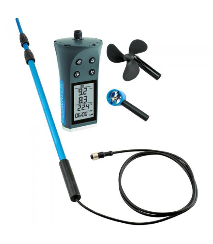 JDC Electronic FL-03 Flowatch Flowmeter / Anemometer