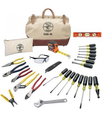 Klein Tools 80028 [KLE-80028] 28-Piece Electrician Tool Set