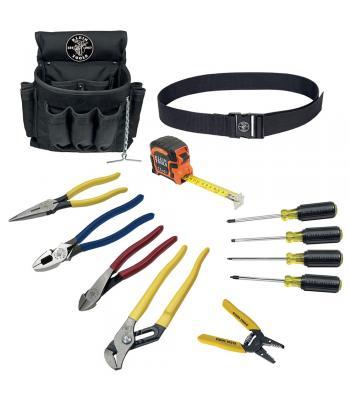 Klein Tools 92003 [KLE-92003] 12-Piece Electrician Tool Set
