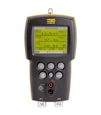 Martel BetaGauge 311A [BG311A-0.3PSIG] Pressure Calibrator, 0 to 0.3 PSIG