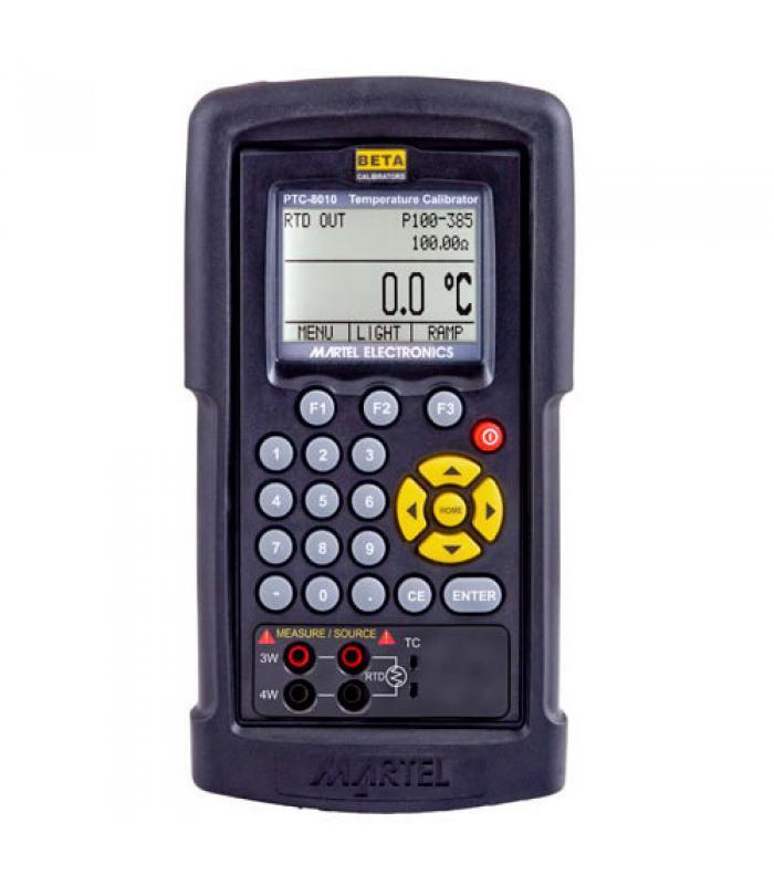 Martel PTC-8010 [1920000] RTD and Thermocouple Calibrator