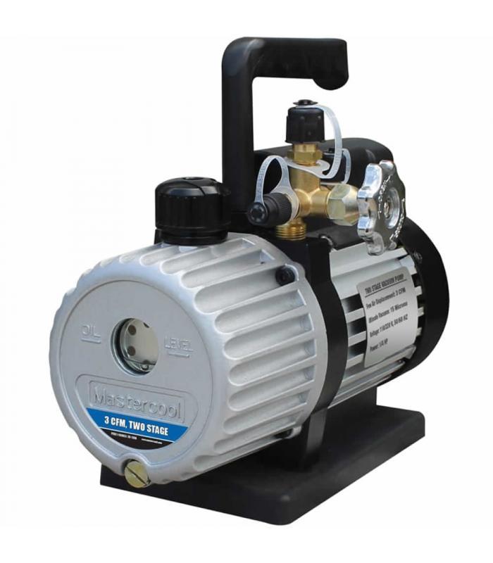 Mastercool 90063 [90063-2V-220B] 3 CFM Dual Voltage Vacuum Pump, 220 V