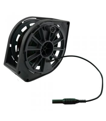 Megger 1000-350 Replacement Cable Reel, Black Cable, 50 m, 115V