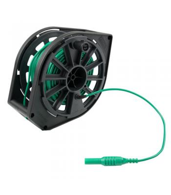 Megger 1000-362 Replacement Cable Reel,  Green Cable, 30 m, 115V