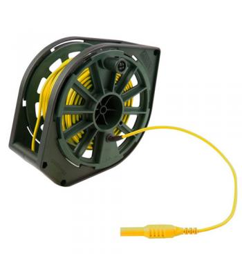Megger 1000-361 Replacement Cable Reel, Yellow Cable, 30 m, 115V