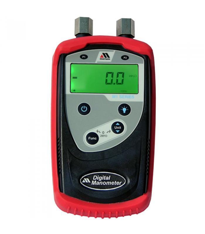 """Meriam M100 [ZM100-7] Digital Manometer/Calibrator, 0 to 138"""" H2O"""