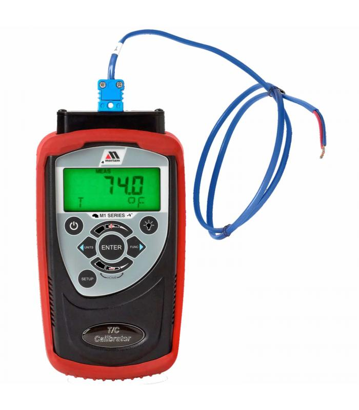 Meriam M130 [216.281.1100] T/C Calibrator for Types B, E, J, K, N, R, S, T and millivolts