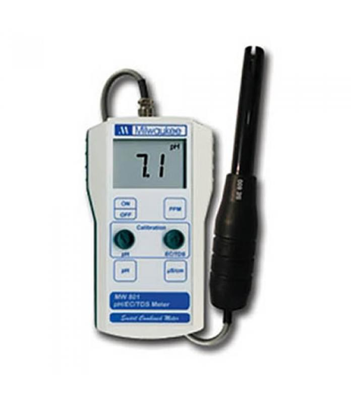 Milwaukee MW802 [MW802] Standard Portable pH / Conductivity / TDS Combination Meter