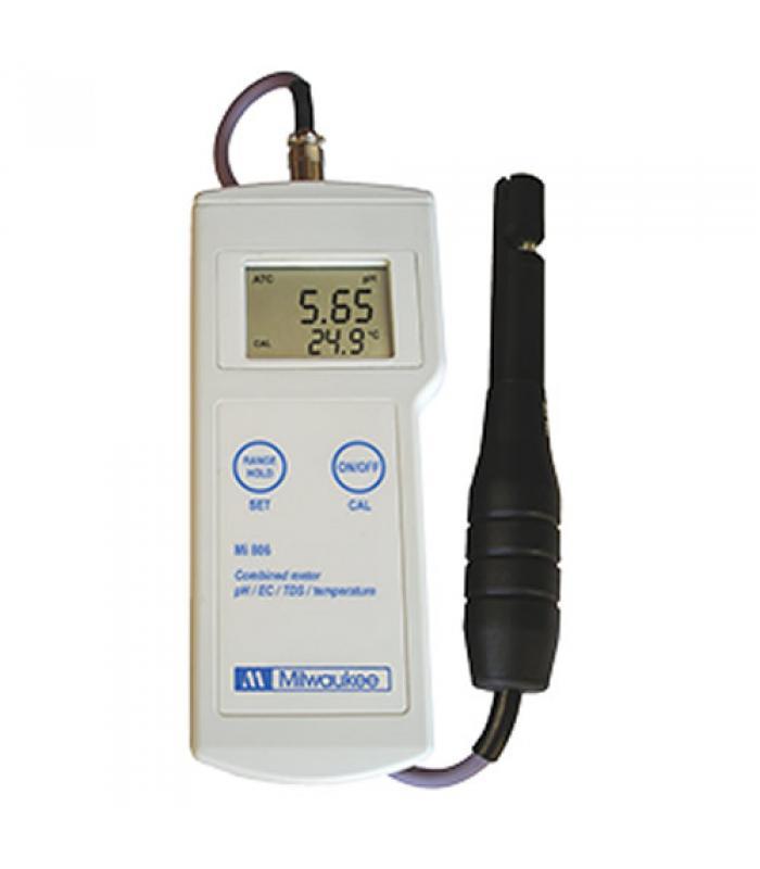 Milwaukee Mi806 [Mi806] pH / Conductivity / TDS / Temperature Professional Portable Meter