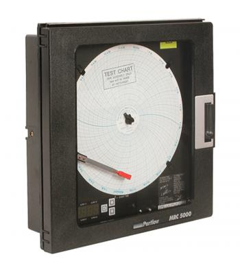 Partlow MRC 5000 [MRC 51000011] Circular Chart Recorder One Pen (Recorder only)